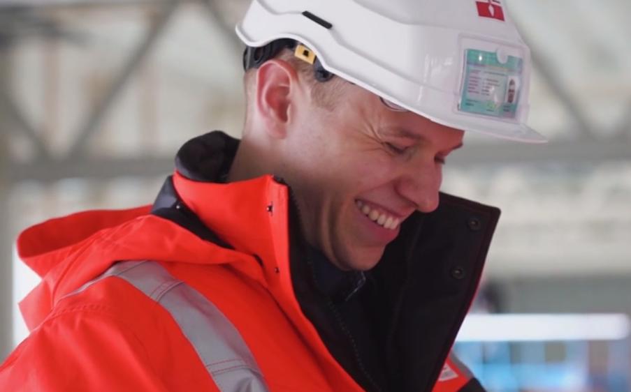 Sortland Entreprenør vil satse på flere unge ledertalenter som Aleksander (24)